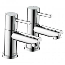 Bristan Blitz Bath Taps (Pair)           Btz3/4C