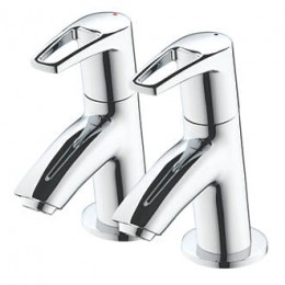 Bristan Smile Bath Taps (Pair)     Sm3/4C