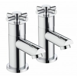 Bristan Decade Basin Taps Pair Dx 1/2 C