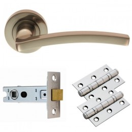 Cb Tavira Lever On Rose Latch Pack Gk009Sn/Intb