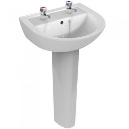 Ideal Standard Sandringham 21 50cm 2TH basin E894601