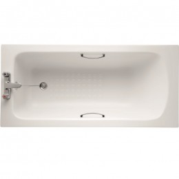 Ideal Standard Sandringham 21 1700x700mm Bath 2TH inc twin grips  tread pattern E028401