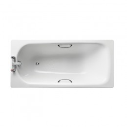 Ideal Standard Sandringham 21 1500x700mm Steel Bath 2TH inc twin grips  antislip S183301