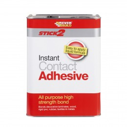 Everbuild Stick 2 Instant Contact Adhesive 5 Litre CONA5