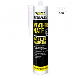 Everbuild Everflex Weather Mate Clear 295 ml WEACL