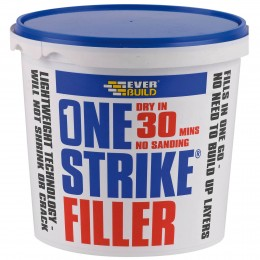 Everbuild One Strike Multi-Purpose Filler White 1 Litre  ONE1