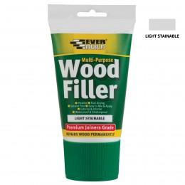 Everbuild Multi-Purpose Wood Filler Tube Light Stainable 100 ml MPWOODEASILT1