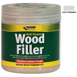 Everbuild Multi-Purpose Wood Filler Light Stainable 250 ml MPWOODLT2