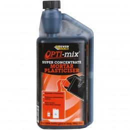 Everbuild Opti-Mix Mortar Plasticiser Admixture 1 Litre OPTIMIX1