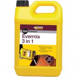 Everbuild 204 Evermix 3 in 1 Triple Action Admix 5 Litre EMIX5