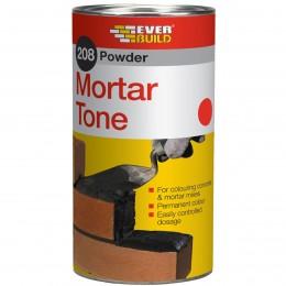 Everbuild 208 Powder Mortar Tone Red 1 kg PMTRD1