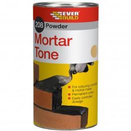 Everbuild 208 Powder Mortar Tone Buff 1 kg PMTBUFF1