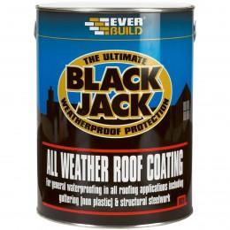 Everbuild Black Jack 905 Roof Coating Black 5 Litre 90505