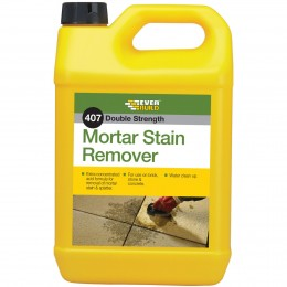 Everbuild 407 High Strength Mortar Stain Remover 5 Litre MORSTAIN5