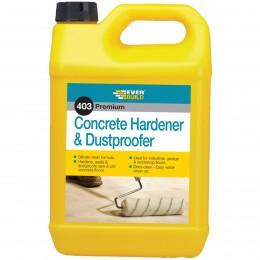 Everbuild 403 Concrete Hardener and Dustproofer 5 Litre CHD5L