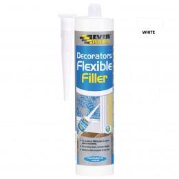 Everbuild Flexible Decorators Filler White 290 ml FLEX