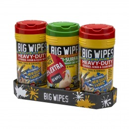 Big Wipes Triple Pack with 25% EXTRA FREE XMS19WIPES