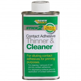 Everbuild Stick 2 Adhesive Thinner and Cleaner 2.5 Litre CONTHIN2