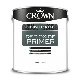 Crown Contract Red Oxide Primer Red 2.5L 5093071