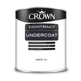 Crown Contract Undercoat White 1L 5090762
