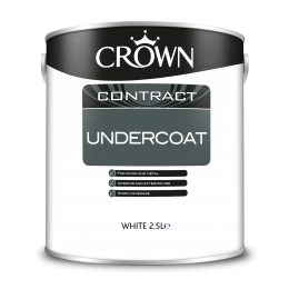 Crown Contract Undercoat White 2.5L 5090770